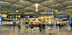malaga airport terminal